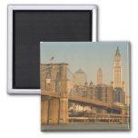 USA, New York, New York City, Manhattan: 9 Square Magnet