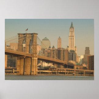 USA, New York, New York City, Manhattan: 9 Poster