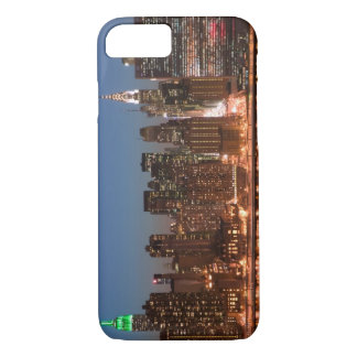 USA, New York, New York City, Manhattan: Aerial iPhone 7 Case