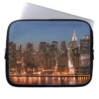 USA, New York, New York City, Manhattan: Aerial Laptop Sleeve