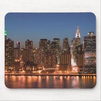 USA, New York, New York City, Manhattan: Aerial Mouse Mat