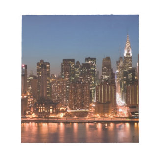USA, New York, New York City, Manhattan: Aerial Notepad