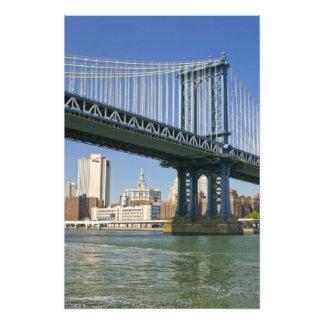 USA, New York, New York City. Manhattan Bridge Photograph
