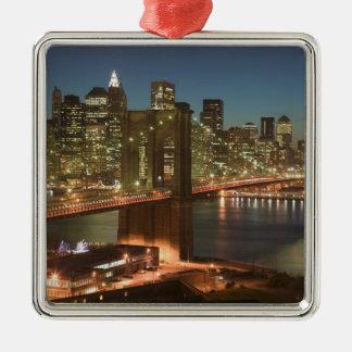 USA, New York, New York City, Manhattan: Christmas Ornament