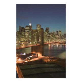 USA New York New York City Manhattan Photo Print