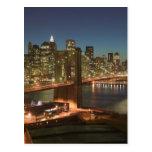 USA, New York, New York City, Manhattan: Postcard