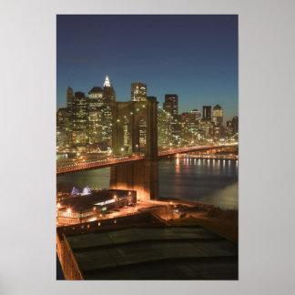 USA, New York, New York City, Manhattan: Poster