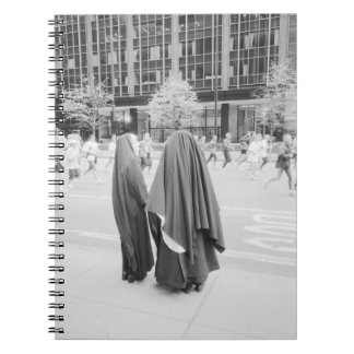 USA, NEW YORK: New York City Nuns Watching NYC Spiral Notebook