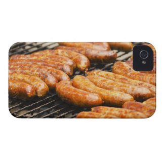 USA, New York, New York City, Sausages on iPhone 4 Case