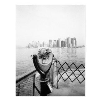 USA, NEW YORK: New York City Scenic Viewer Postcard