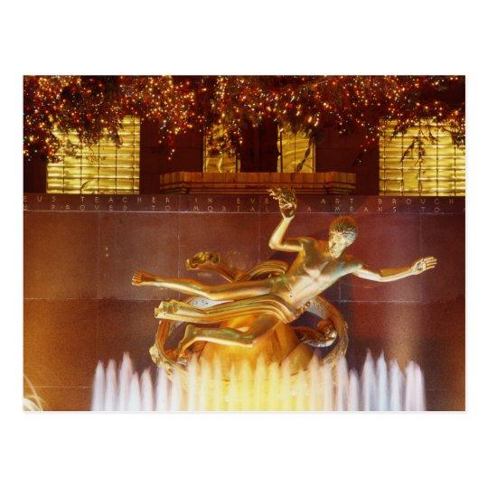 USA, New York, New York City, Statue of Postcard