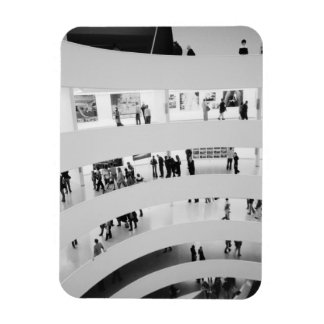 USA, New York, New York City: The Guggenheim 2 Rectangular Photo Magnet