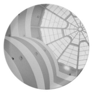 USA, New York, New York City: The Guggenheim 3 Plate