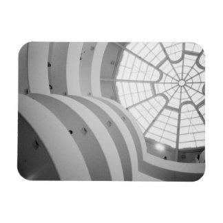 USA New York New York City The Guggenheim 3 Vinyl Magnet