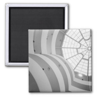 USA, New York, New York City: The Guggenheim 3 Square Magnet