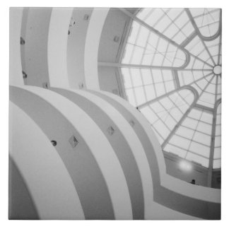 USA, New York, New York City: The Guggenheim 3 Tile