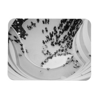 USA, New York, New York City: The Guggenheim 4 Rectangular Photo Magnet