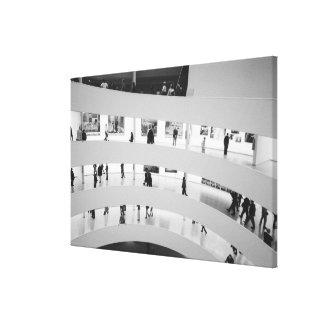 USA, New York, New York City: The Guggenheim 5 Canvas Print