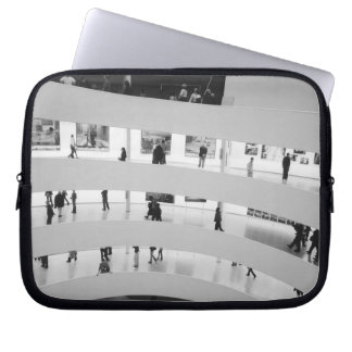 USA, New York, New York City: The Guggenheim 5 Laptop Sleeve