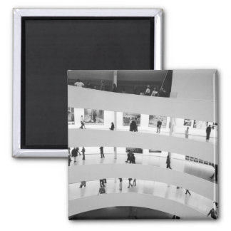 USA, New York, New York City: The Guggenheim 5 Square Magnet