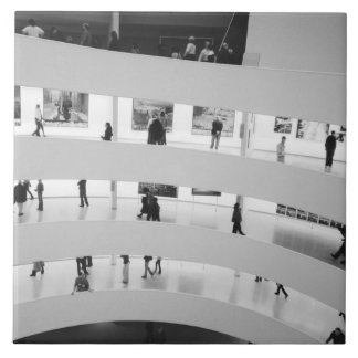 USA, New York, New York City: The Guggenheim 5 Tile