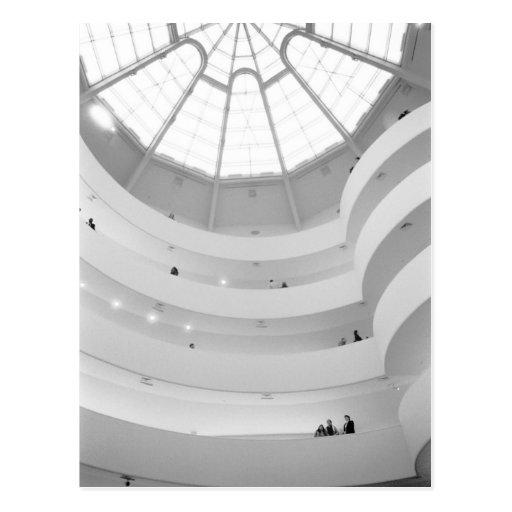 USA, New York, New York City: The Guggenheim Post Cards