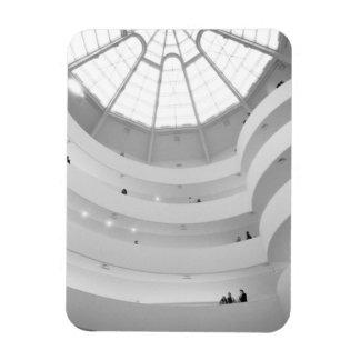 USA New York New York City The Guggenheim Flexible Magnets