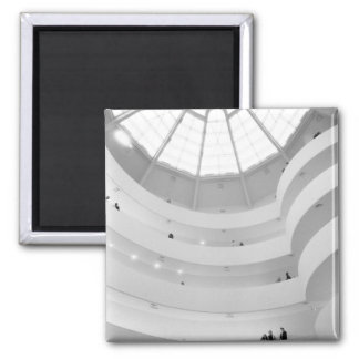 USA, New York, New York City: The Guggenheim Square Magnet