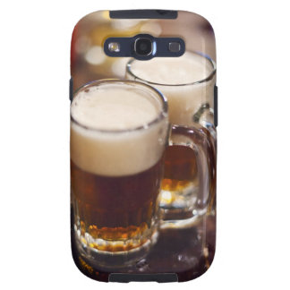 USA, New York, New York City, Two beers on bar Samsung Galaxy SIII Covers