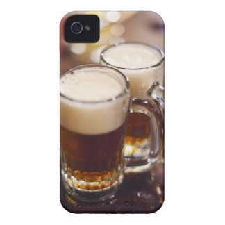 USA, New York, New York City, Two beers on bar iPhone 4 Cover