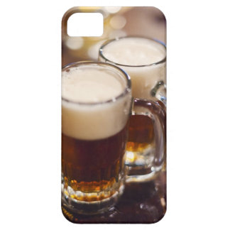 USA, New York, New York City, Two beers on bar iPhone 5 Cases