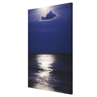 USA, New York, Queens, Rockaway Beach, Landscape Gallery Wrapped Canvas