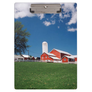USA, New York, Sharon Springs, Farm Clipboard