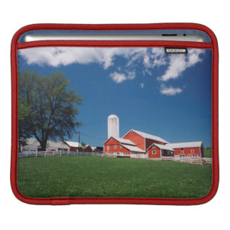 USA, New York, Sharon Springs, Farm iPad Sleeve