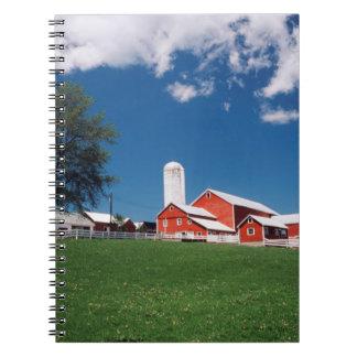 USA, New York, Sharon Springs, Farm Notebook