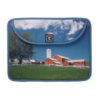USA, New York, Sharon Springs, Farm Sleeve For MacBooks