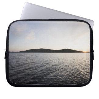 USA, New York State, Adirondack Mountains, Lake 5 Laptop Sleeve