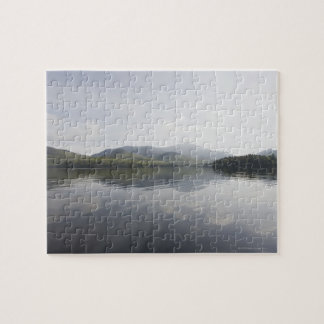 USA, New York State, Adirondack Mountains, Lake 6 Jigsaw Puzzle