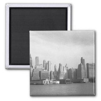USA New York State New York City skyline Magnet