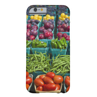 USA, New York State, New York, Vegetables and Barely There iPhone 6 Case
