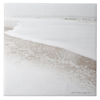 USA, New York State, Rockaway Beach, beach in Large Square Tile
