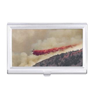 USA, North America, Colorado, Boulder, Flagstaff Business Card Holder