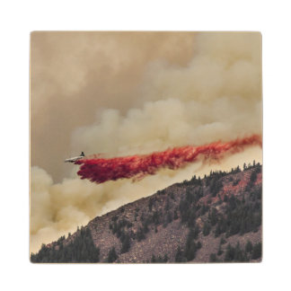 USA, North America, Colorado, Boulder, Flagstaff Wood Coaster