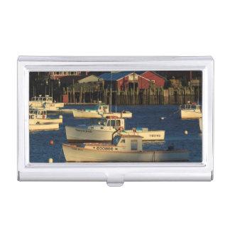 USA, North America, Maine, Bernard, Fishing Business Card Holder