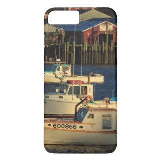 USA, North America, Maine, Bernard, Fishing iPhone 8 Plus/7 Plus Case