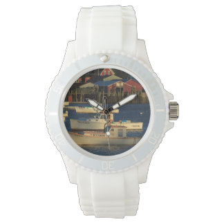 USA, North America, Maine, Bernard, Fishing Watch