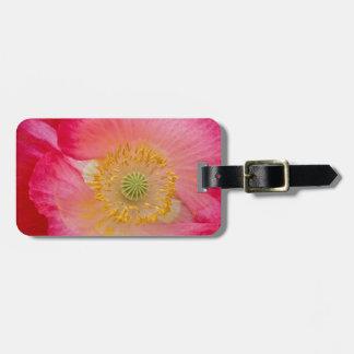USA, North Carolina. Close-up of poppy interior Luggage Tag