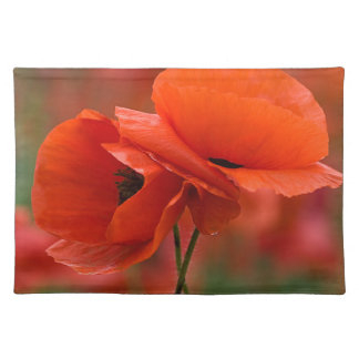 USA, North Carolina. Close-up of poppy Placemat