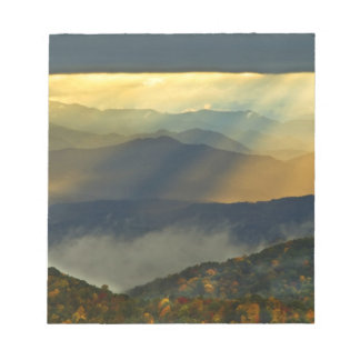 USA, North Carolina, Great Smoky Mountains. Notepad
