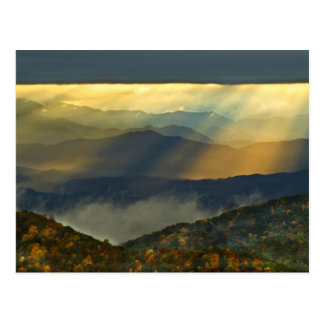 USA, North Carolina, Great Smoky Mountains. Postcard